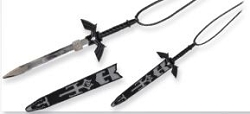 Black Zelda Dark Link  Necklace