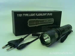 Bright LED Flashlight 1 Million Volt Stun Gun flashlight