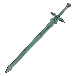 Kirito's Sword Art Online Long Sword of Kirito Green