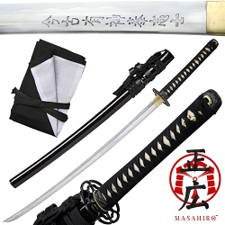Hand Forged High Carbon Steel Samurai Sword With Real Ray Skin, Captain Nathan Algren Tachi