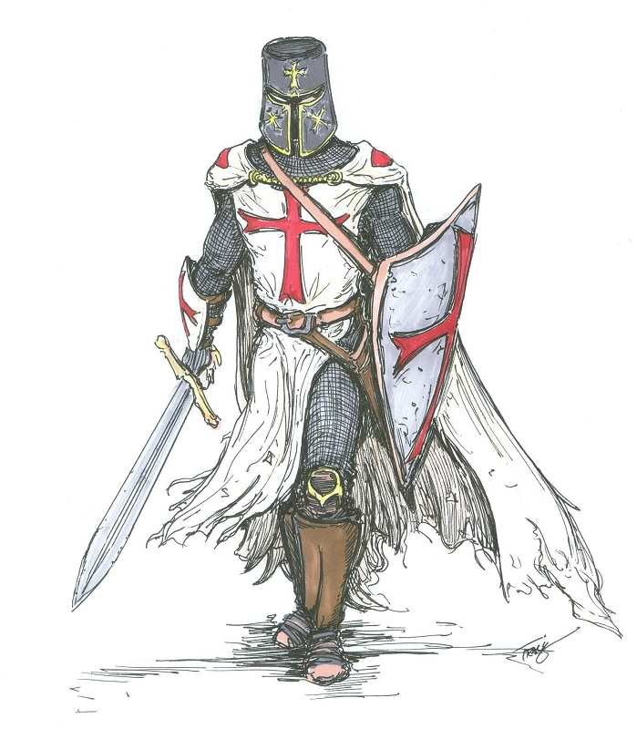 home shields knights templar shield and sword hangerKnight With Shield