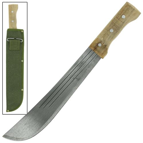 Brazilian Bush Full Tang Machete 17 inch