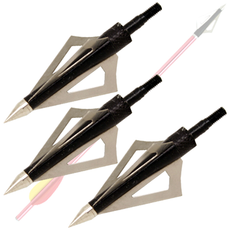 Broadhead Arrow Head Set 3 Blade