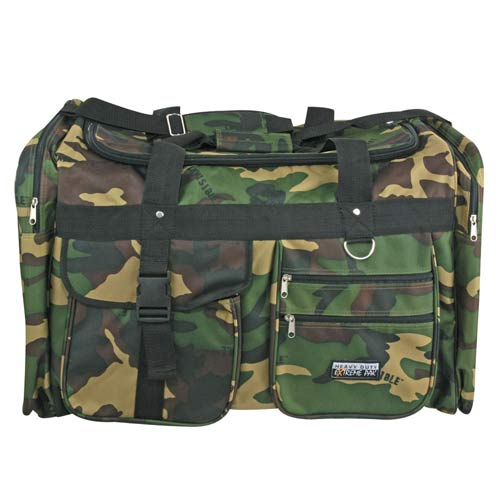 Woodland Camouflage Tote Bag 29 inch