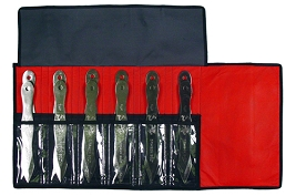 12 PC Dragon Bolt Jumbo Throwing Knife Set with Roll Case - 8.5 Inch Knives