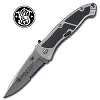 Smith & Wesson Swat Silver Medium Assisted Open Folding Knife 19SWATMS