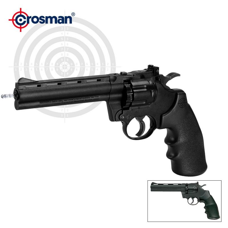 Magnum Semi-Automatic CO2 Air Pistol Revolver