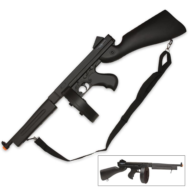 Thompson Eco-Line M1A1 Black Airsoft Gun