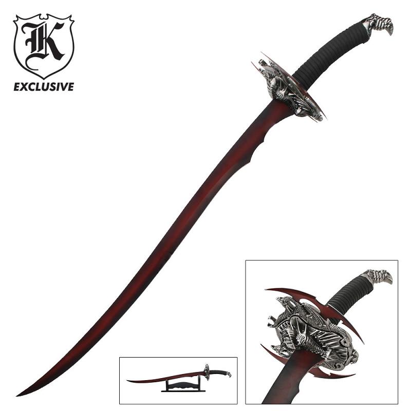 Red Dragon Scrimitar Sword
