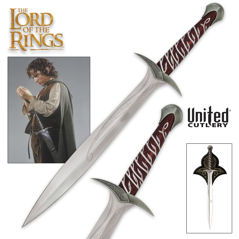 the lord of the rings sting sword