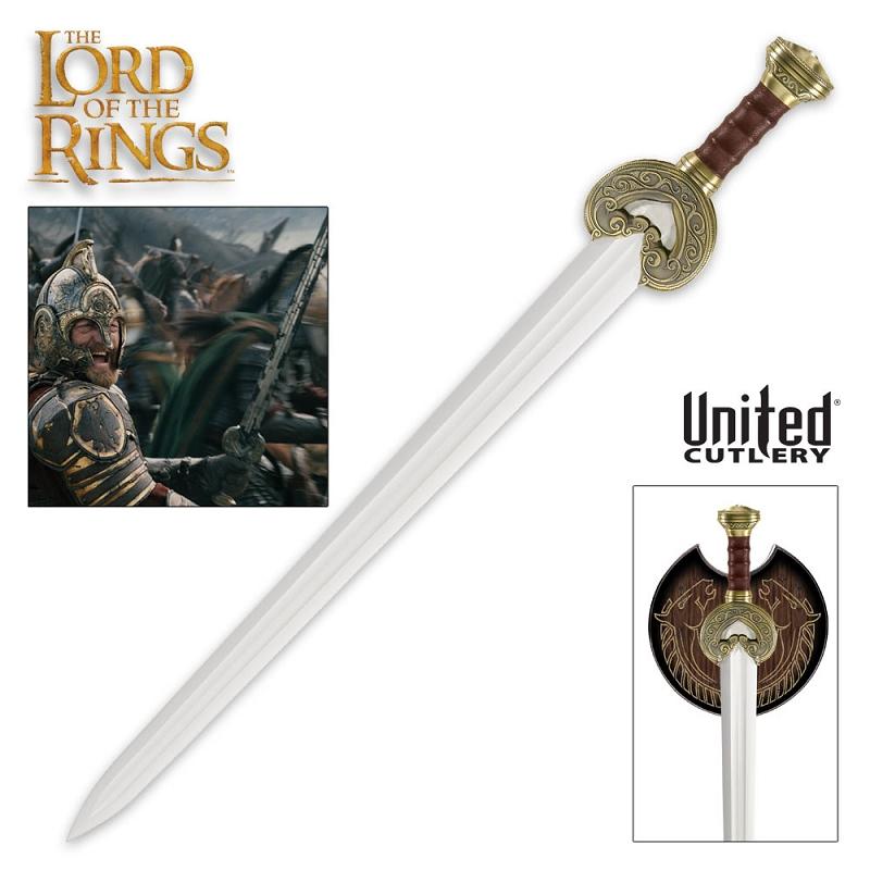 the lord of the rings herrugrim sword
