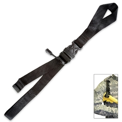 Spec Ops Wolf Wook Weapon Lanyard Black