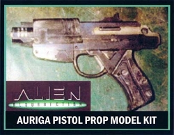 Aliens Resurrection  Auriga Pistol Replica Prop Model Kit