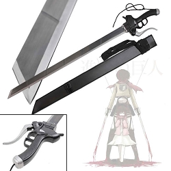 Shingeki no Kyojin Sword with Leather Sheath