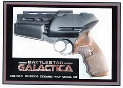 Battlestar Galactica 2004 Sidearm Replica Prop Model Kit