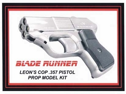 Blade Runner Leons Pistol Replica Prop Model Kit