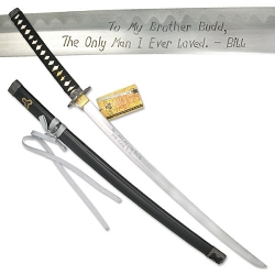 Personalized Autographed Budd Sword SW-350B