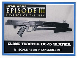 Star Wars Clone Trooper DC-15 Rifle Replica Prop Model Kit