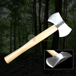 Double Blade Outdoor Camping Axe Hatchet Tomahawk Fully Functional