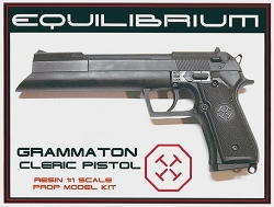 Equilibrium Grammaton Cleric's Pistol Resin Prop Model Kit