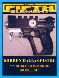 The Fifth Element Korben Dallas Gun Replica Prop Model Kit