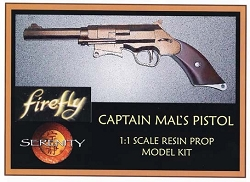 Firefly Captain Mal's Pistol Replial Prop Model Kit