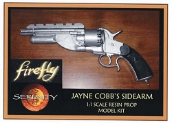 Firefly Jayne Cobb's Sidearm Replica Prop Model Kit