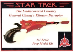 General Chang Disruptor Replica Prop Model Kit