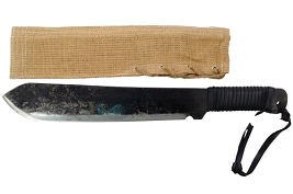 Full Tang Jungle Machete High Carbon Steel