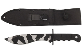 Bolo Hunting Knife - Choose Black or Camo Blade