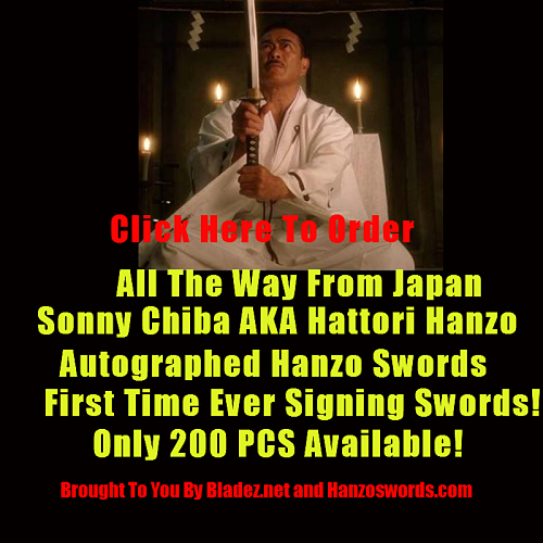 Hanzo Swords Musashi Swords Spring Assisted Knives