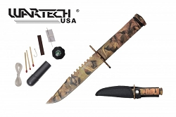 The Hunted Forest Realtree Camo Tracker T-3 Knife 8.5 inches