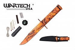 The Hunted Skull Tracker T-3 Knife 8.5 inches