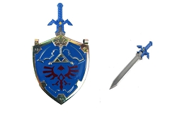 Hylian Shield from the Legend of Zelda Necklace