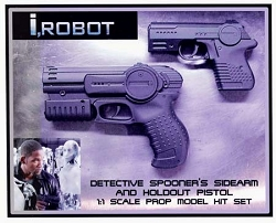 I Robot Spooner Pistol Replica Set Prop Model Kit