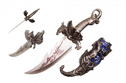 Crystal Ice Dragon Dagger