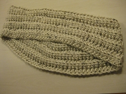 Chunky infinity scarf -Hand Knit USA yarn. Made in the USA (COPY)