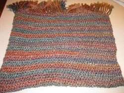 Prayer Shawl- Hand Knit USA yarn