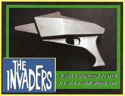Invaders Vaporizer Pistol Replica Prop Model Kit