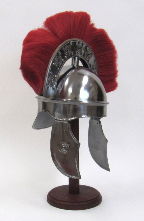 Hbo Rome Armor Helmet With Plume