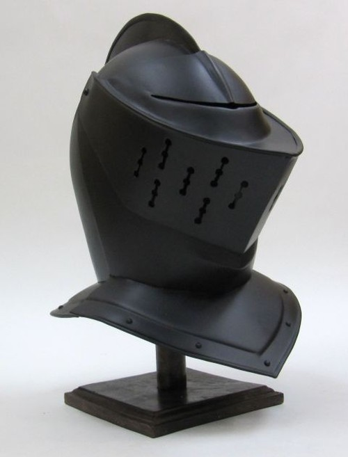 Armor Helmet Closed Black