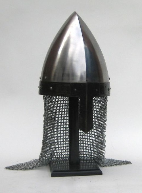 Normal Nasal With Chain Mail Guard