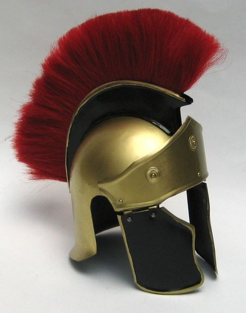 Greek Troy Helmet withPlume