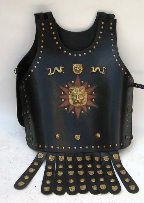 Leather Armor Jacket (L-20003)