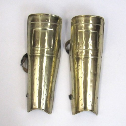 Spartan Greaves Set - Brass