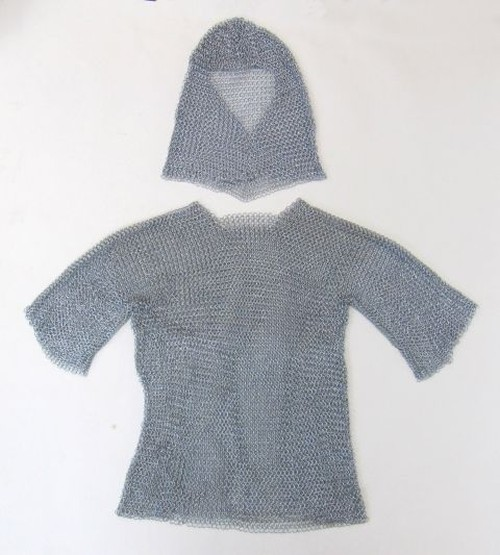 Chain Mail Armor With Hood