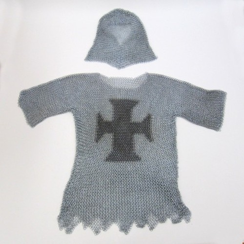 Templar Chain Mail withHood