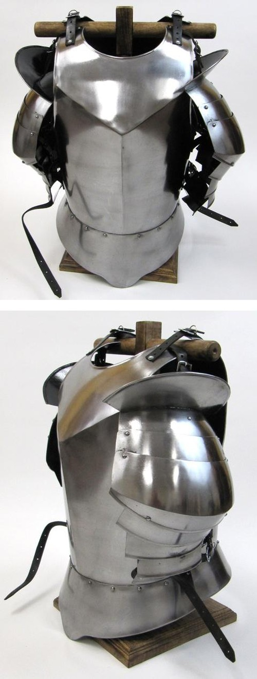 Medieval Suit Of Armor Breast Plate and Shoulders (small)