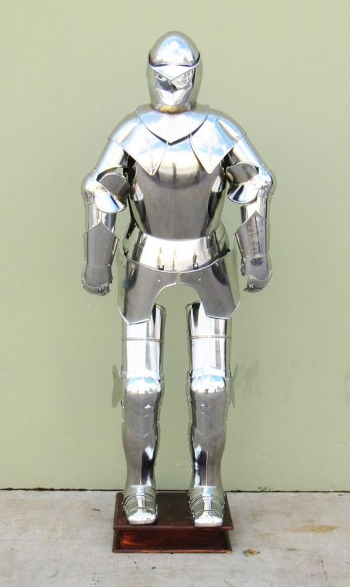 Full suit of armor with stand