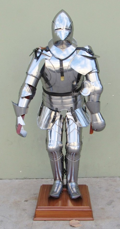 Gothic Full Suit Of Armor